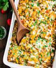 leftover roast  mexican casserole