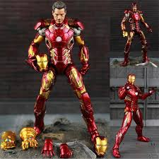 <b>New Hot Theavengers</b> Ironman Action Model 20cm Mk42 Mk43 <b>Iron</b> ...