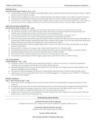 Sample Executive Resume Format Resume Sample Source