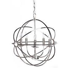 Люстра foucault s orb chandelier 6 loft concept купить дешево с