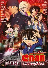 Thám tử lừng danh Conan: Viên đạn đỏ' ra mắt khán giả Việt: Đồng hành cùng  Conan và Ran là những ai?