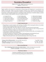 Joyous Resume Summary Examples For Customer Service 10 Sample