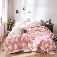 hot sofo flannel winter warm bedding set full queen king duvet quilt cover flitted sheet bed sheet pillowcase newchic