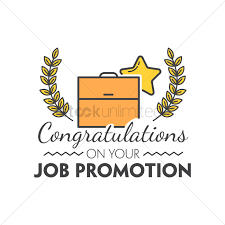 Congratulations On Your Job Promotion Vector Image 1791313