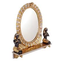 Design Toscano Mirror Design Toscano King Amenhotep Egyptian Vanity Mirror 31 5w