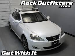 lexus is 250 2007 white. this complete multipurpose base roof rack is for the 2006 2007 2008 2009 2010 2012 and 2013 lexus is 250 4 door sedan that has white