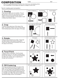 Elements Of Design And Composition Composition Exercise Composition Art Art Worksheets