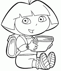 Small Picture dora the explorer boots coloring pages for kids halloween