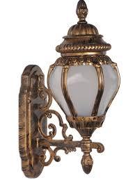 ornate victorian antique golden outdoor wall light decorative outdoor at foslighting