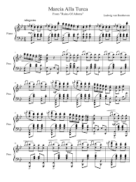 In 1811 beethoven wrote an overture and incidental music. Turkish March Beethoven Ludwig Van Beethoven Classical Music