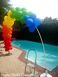 i have made these lots of times and they are easy to make and i just use air to fill balloons no helium needed 8th grade graduation ideas