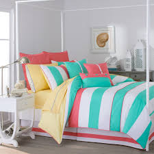 Colorful Stripe Bedding For Teen Girls