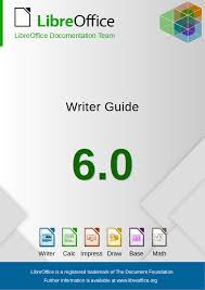 Libreoffice Org Chart Libreoffice 6 0 Writer Guide The Document Foundation Blog