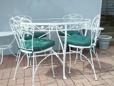 vintage wrought iron table. Contemporary Vintage Vintage Wrought Iron Patio Furniture Set  Pinterest Patio Furniture  Furniture Sets And On Table G