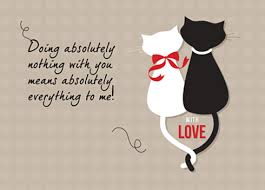 sweet cat love. Delighful Cat Sweet Cat Card Filled With Love On Love