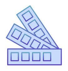 Pantone Color Chart Blue Pantone Color Chart Vector Images Over 190