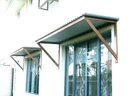 awesome front door awning diy door awning awning ideas simple awning plans with additional corrugated metal