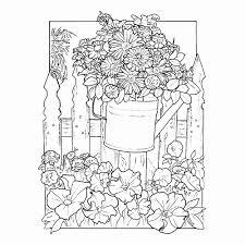 Kleurplaat Zomer Nieuw Beroemd Kleurplaten Voor Volwassenen Bloemen