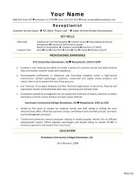 Hotel Front Desk Resume Sample Office Manager Examples Supervisor