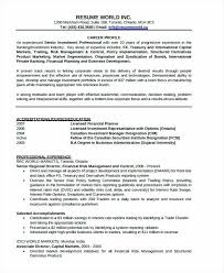 Banking Resume Business Banker Sample For Bankers Download Examples