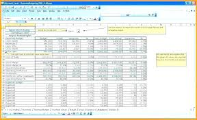 Sample Budget Excel Spreadsheet Project Example Of Monthly Template