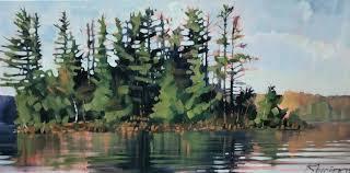 reid thorpe fine art and ilration contemporary landscape painting