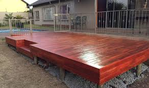 wooden decking johannesburg