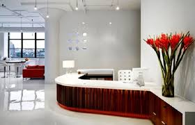 white office interior. commercial office interior design ideas for new atmosphere red white