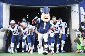 New England Patriots 2015 Depth Chart Pat Patriot Leading The Team Out Of The Tunnel New England