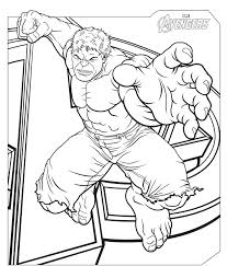 the incredible hulk coloring pages best images on book free printable