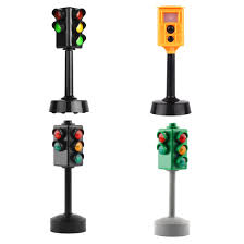 Traffic Light Brain Teaser Us 17 73 41 Off High Quality Simulation Traffic Light Traffic Signal Children Kids Educational Toys Gift For Figure Building Block And Model Car In