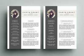 Design Resume Template By Refinery Co Layout Graphic Examples