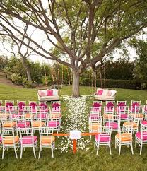 Decorating Ideas For A Summer Backyard Wedding  Yard Wedding Summer Backyard Wedding