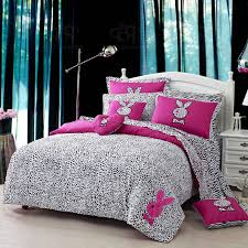 cool bed sheets for girls. Perfect Bed Modern Style Bedroom With Reactive Printing Duvet Technology And Rabbit Bedding  Set Bedroom Cool And Bed Sheets For Girls E