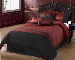 asian themed bedding burdy and black 7 pc oyuki comforter set