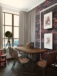 Vintage Apartment Design Modern Background Designs Design Modern - Vintage studio apartment design