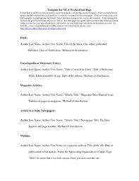 Mla Format Works Cited Scarlet Letter Inspiration Citation Fresh