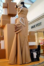 Recycled Designer Apparel Mashed Thoughts Designer Dresses Made Of Paper Paper
