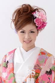 和装 髪型 ミディアム Utsukushi Kami