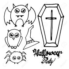 ハロウィーンコウモリ幽霊ホラー帽子10 月カボチャベクトルクモイラスト アイコン