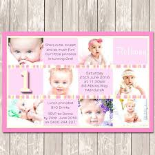 Free Photo Collage Birthday Invitations When To Send Gallery One