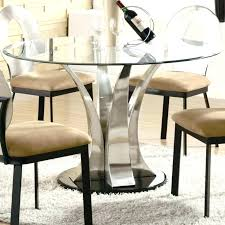 round glass top table and chairs glass top dining table set glass top chairside table