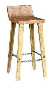 unfinished oak bar stools backless wooden