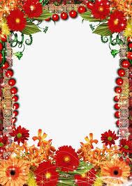 frame design flower. border frame design, png, frame, colored ribbon png image and clipart design flower h