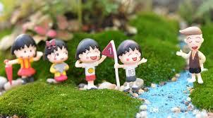 2019 maruko fairy garden gnomes cartoon s resin craft figurines ornaments dollhouse bonasi decor from cakeworld 4 73 dhgate