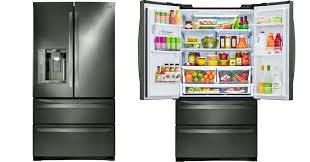 lg black stainless home depot lg black stainless steel french door refrigerator only delivered smudge proof
