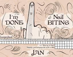 Illustrate My Nail Biting Chart Freelancer
