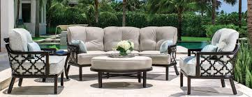 a wide selection of patio furniture