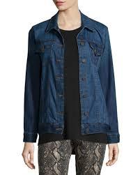 Cj By Cookie Johnson Jeans Size Chart Deliverance Long Denim Jacket