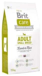 <b>Корм</b> для собак <b>Brit Care</b> ягненок с рисом (для мелких пород ...